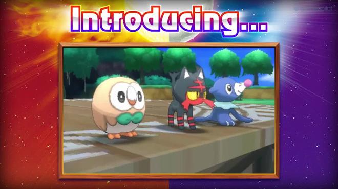 Desveladas las primeras imágenes de Pokemon Sol y Pokemon Luna que se pondrán a la venta en Noviembre del 2016