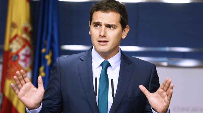 """Rivera, preguntado si Rajoy le ha ofrecido la vicepresidencia: """"No. Porque tampoco lo aceptar�a"""""""