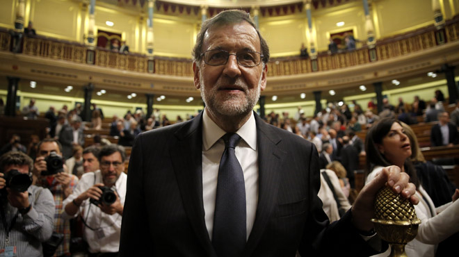 No a Rajoy en la primera ronda de votacions.