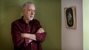 Fernando Trueba, en la librería La buena vida de Madrid.