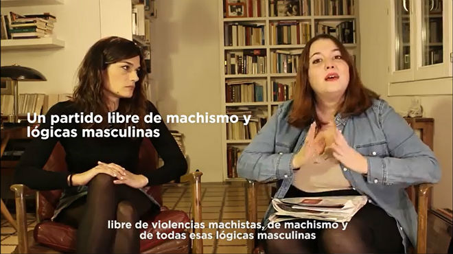 Propuestas errejonistas sobre igualdad para el congreso de Podemos.