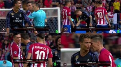 """""""¿Què et passa, pallasso"""". """"Cap a casa, tonto"""". Torres i Cristiano es piquen"""