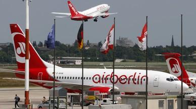 Brussel·les aprova l'ajuda alemanya de 150 milions d'euros a Air Berlin
