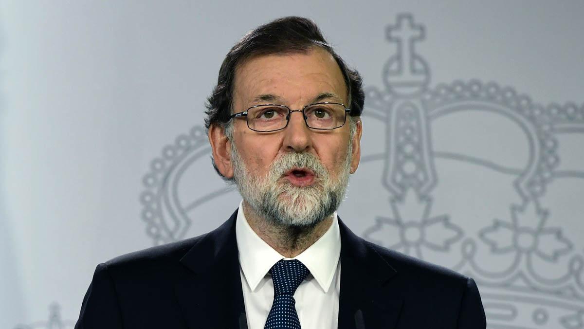 Rajoy comparece en rueda de prensa.