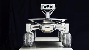 Maqueta del proyecto de Audi para la luna.
