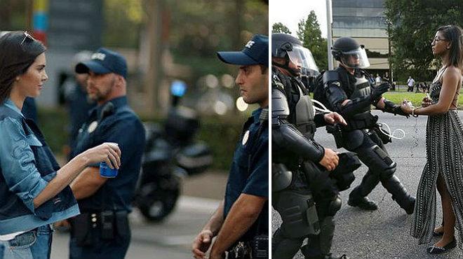 Pepsi anuncia que retirará el polémico anuncio de Kendall Jenner con imágenes de protestas