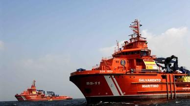 Rescatadas 118 personas en 11 pateras en las costas murcianas