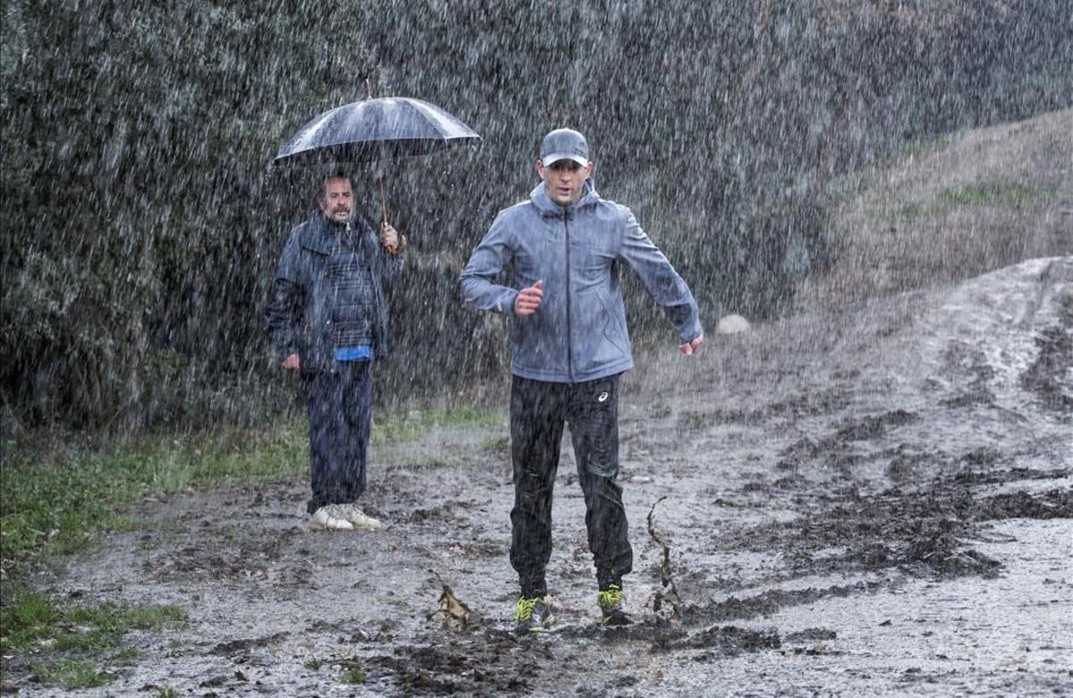 Rovira y elejalde se ponen serios con 39 100 metros 39 - Tiempo en sant just desvern ...