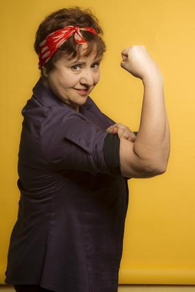 Teresa Urroz, actriz y socia del proyecto Vaca.