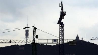 'Barcelona des del cel': 123 grues aixequen projectes immobiliaris
