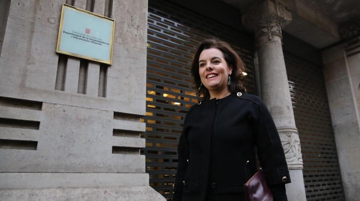 Santamaría i Junqueras enterren l'opció del referèndum pactat