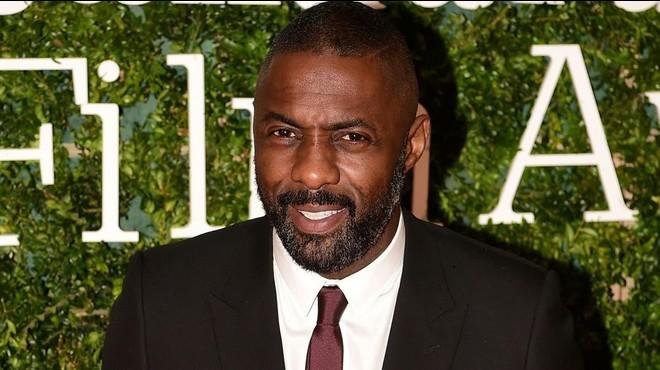 Idris Elba, el domingo en Londres.