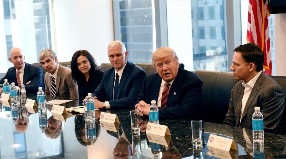 Los planes económicos de Trump seducen a los mercados de EEUU