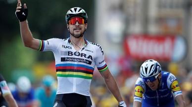 Sagan inicia el seu xou particular al Tour de França