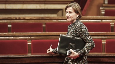 """Forcadell: """"Si l'Estat aplica el 155, el Parlament defensarà la seva sobirania"""""""