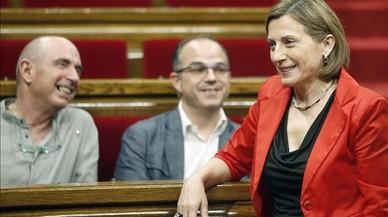 """Forcadell asegura que """"sería mejor"""" que Gordó no fuera diputado en el Parlament"""