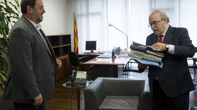 """Junqueras aspira a aprovar el Pressupost amb suports """"més enllà de la CUP"""""""