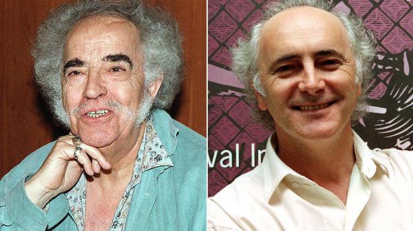 Amancio Prada (derecha) interpreta el poema 'Libre te quiero', de Agustín García Calvo. Vídeo: YOUTUBE / Fotos: EFE