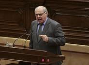 Lluís Rabell, en un pleno del Parlament, el pasado 8 de febrero.