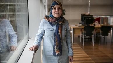 La regidora Fàtima Taleb, objetivo de comentarios islamófobos