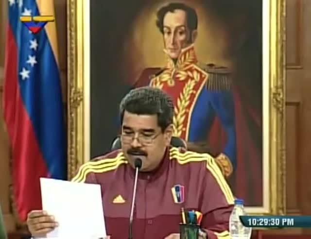 """Maduro diu que González va fugir de Veneçuela """"com un covard"""""""