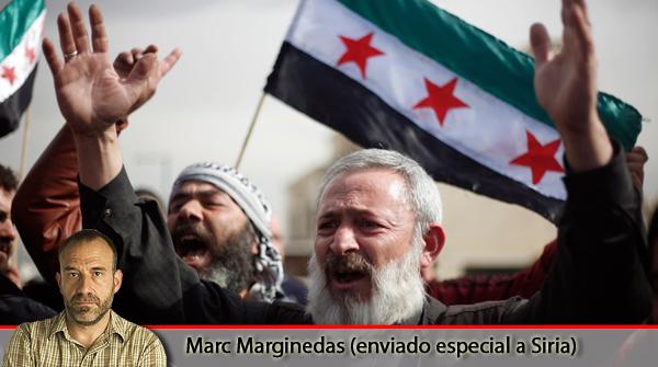 El enviado especial de EL PERIÓDICO en Siria, Marc Marginedas, comenta las imágenes que grabó durante su estancia en el país (23-2-2012).