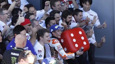 """Márquez: """"Este año, se me caía el pelo de tanta presión"""""""