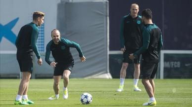 """Iniesta: """"Hem de fer un partit perfecte"""""""