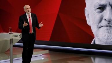 May i Corbyn s'enfronten a l'hostilitat de l'audiència al plató de televisió