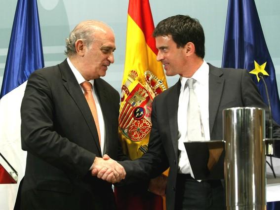 Espanya i fran a no mouran cap pres d 39 eta for Ministre interior