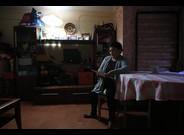 Mujer en situación de pobreza energética, en L'Hospitalet de Llobregat.
