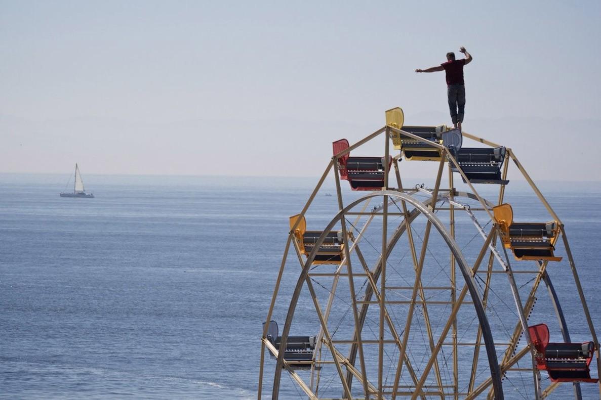 Cinco funambulistas de la famosa familia Wallenda caen al vacío tras hacer una pirámide humana