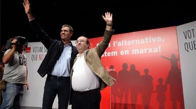 Sánchez critica la línea dura de Rajoy con el referéndum