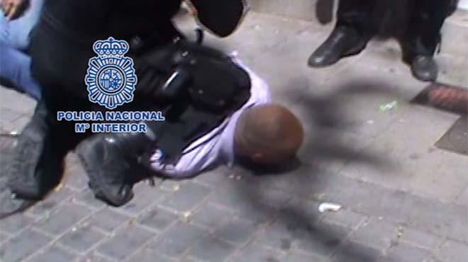 Així deté la Policia un perillós atracador de bancs a Madrid