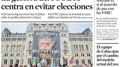 El PSOE cau als 68 escons i el PP arriba a 159, afirma una enquesta de l''Abc'