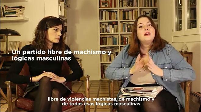 Errejón pide a Podemos que deje de ser machista