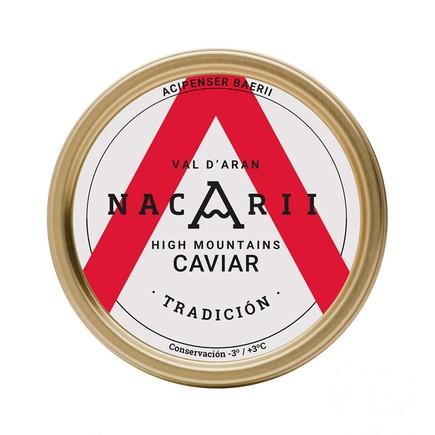 Caviar Nacaarii Tradición.