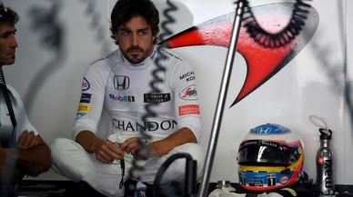 Alonso, fart dels múltiples canvis de la F-1