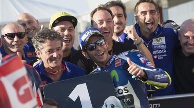 Rossi aconsegueix la 'pole' del Japó a rebuf de Viñales