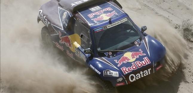 Sainz se hunde en la cuarta etapa del Dakar