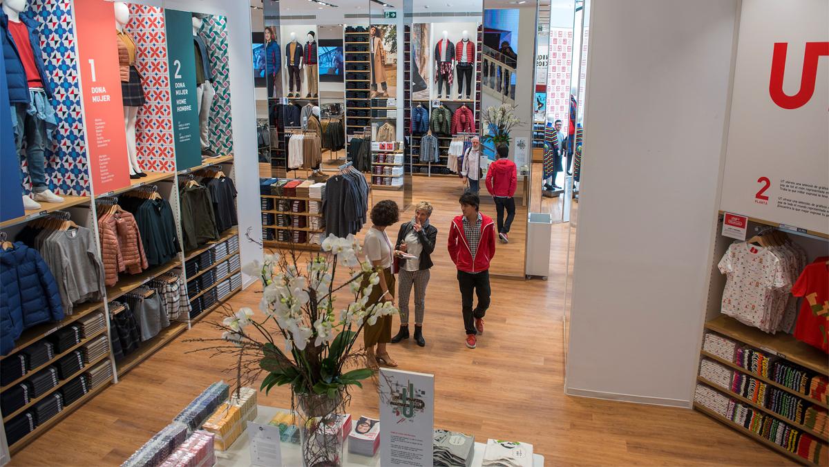 Uniqlo aterra a Espanya amb la seva primera botiga a Barcelona