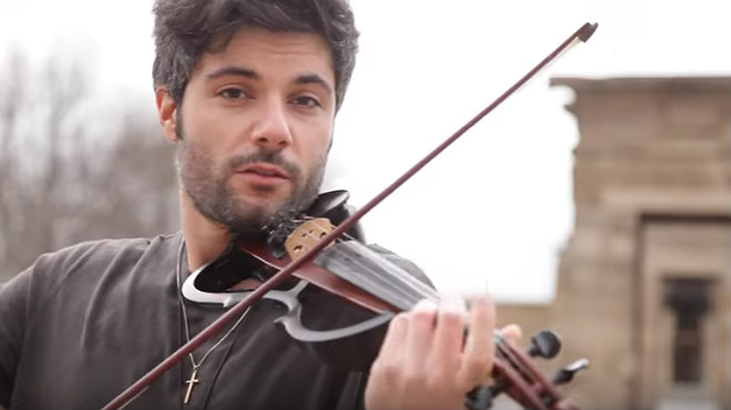 El violinista Jose Asunción s'ha fet famós amb la seva versió de 'Despacito'.