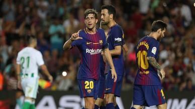 El Barça-Betis de la Lliga Santander, en directe 'on line'