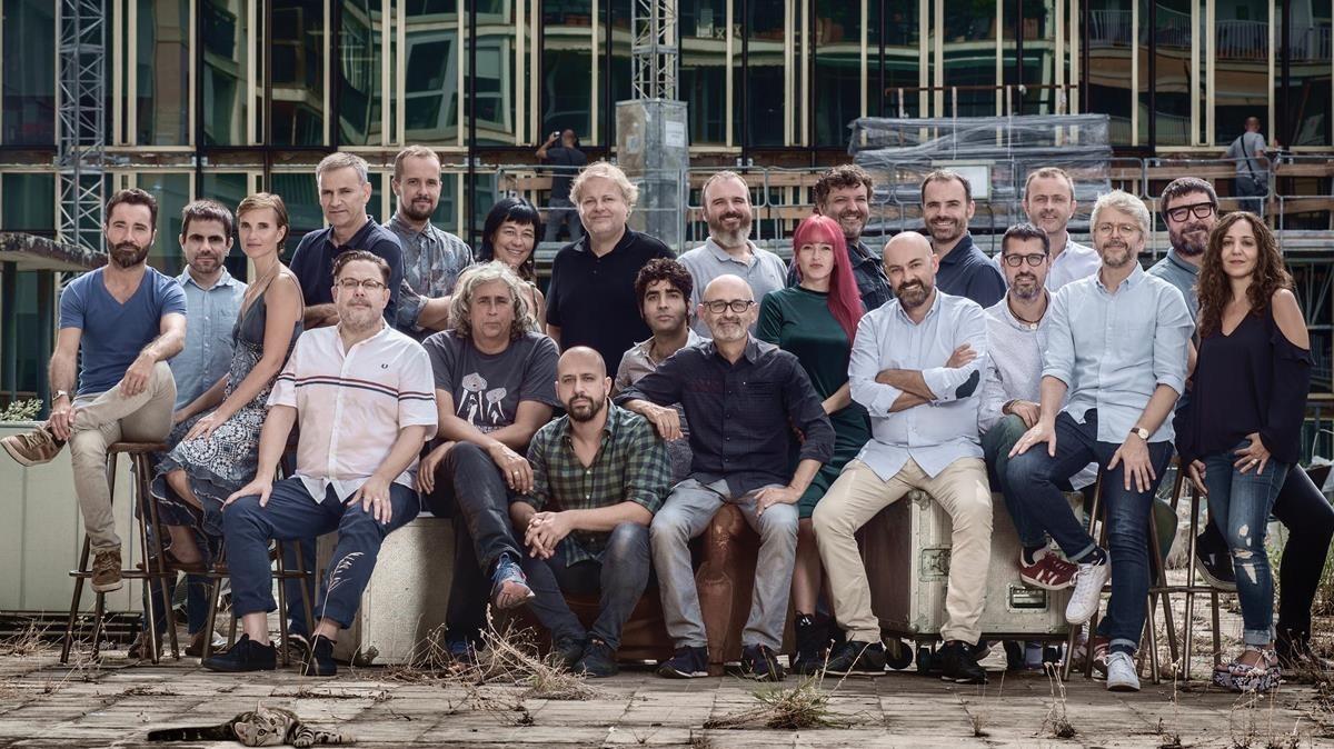 imatge de l equip de la nova temporada de l emissora icat