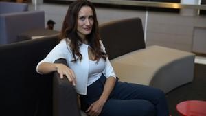 La actriz y directora Ana Asensio, en la presentación en Sitges de Most beautiful island