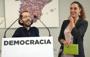 Rueda de prensa tras Consejo de Coordinación de Podemos