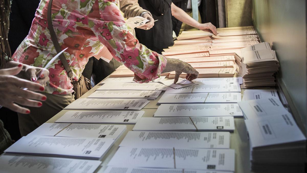 Bloglobal - papeletas en unas elecciones