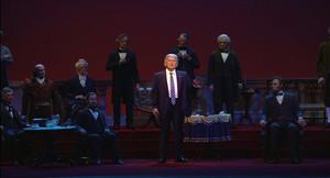 El Trump robot ya se encuentra en el Salón de los Presidentes de Disney World