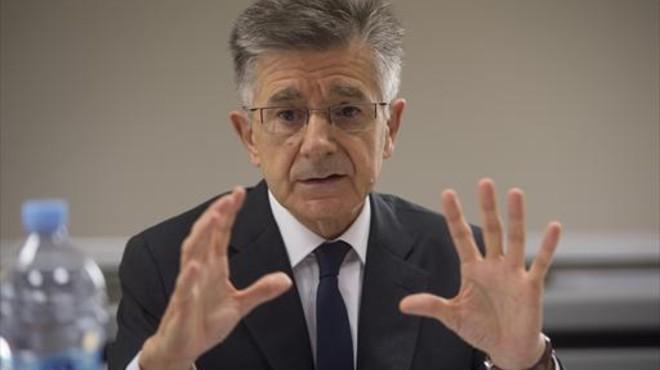 Antoni Zabalza, presidente de Ercros.