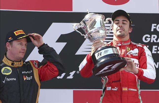 Alonso tambi�n triunfa en la tele